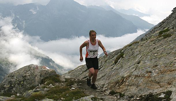 Bettina Fisi war in der Damenklasse die schnellste aller Bergläuferinnen.