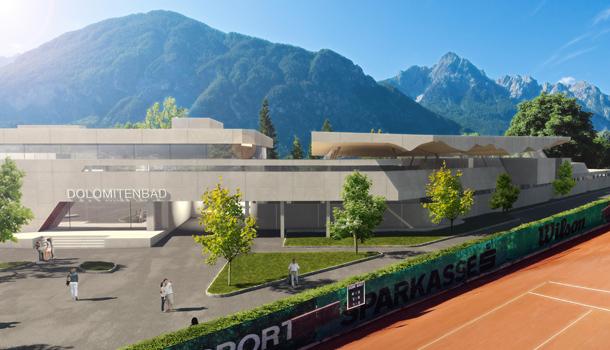 Gemeinderat gibt gr nes licht f r dolomitenbad osttirol for Stellenanzeigen architekt