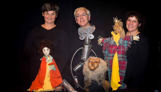 v.l.n.r.: Silva Lamprecht, Dr. Elisabeth Steiner Riedl, Erna Inwinkl