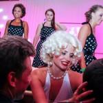 Lena Abl zog als bildhübsche Marilyn Monroe die Blicke der Ballbesucher auf sich.