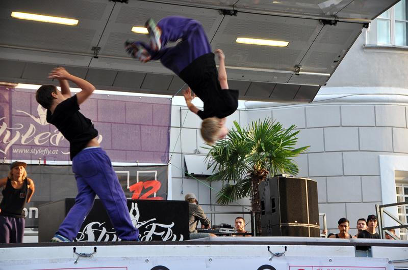 """Mit """"Kids Acrobatic"""", """"Urban Dance Styles"""" und einem Auftritt des Showteams verabschiedete sich der Verein am 25. Juli 2014 in die Sommerpause."""