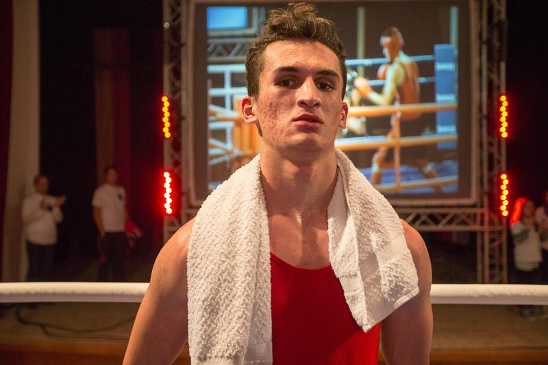 Islam Aslahanow, Aushängeschild des Boxclubs Lienz, gewann zwei Kämpfe.