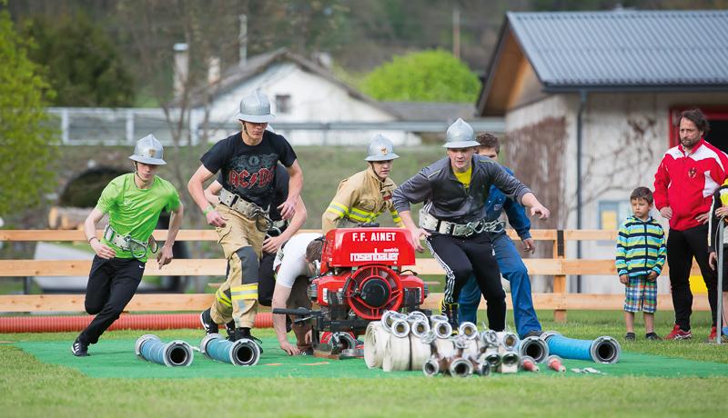 Im Vorjahr organisierte die FF Ainet gemeinsam mit ihren Kameraden aus Schlaiten den Tiroler Feuerwehrleistungsbewerb. Am Sonntag, 3. Juli, laden die Florianijünger der Iseltaler Gemeinde zum Kirchtagsfest.
