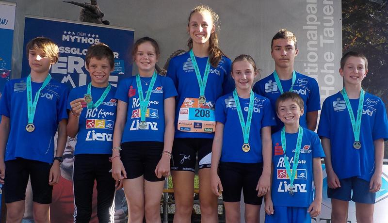 Die Nachwuchs-LäuferInnen des RC Figaro Lienz machten beim Kinder- und Jugendrennen mit und erzielten hervorragende Ergebnisse. Patrik Frömel-Tomasi (4.), Jonas Hauser (1.), Leonie Hauser (1.), Anna Eder (3.), Xenia Lexer (4.), Nick Lexer (5.), Ken Lexer (1.), Maximilian Eder (14.)