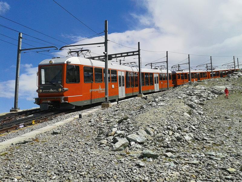 Ein Highlight im bisherigen Leben des Oberkärntners war die Fahrt mit der Gornergratbahn, einer elektrisch betriebenen Zahnradbahn in der Monte Rosa-Region in der Schweiz.