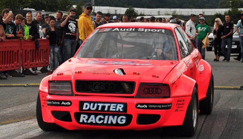 """Reinhard Dutters Audi 90 Turbo Quattro """"Kampfsau"""""""
