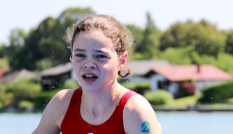 Leonie Hauser erkämpfte sich bei den Österreichischen Meisterschaften den hervorragenden dritten Platz.