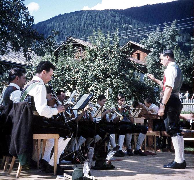 """Am 15. August 1967 ging das erste Kirchtagsfest im """"Zeiner Garten"""" über die Bühne."""
