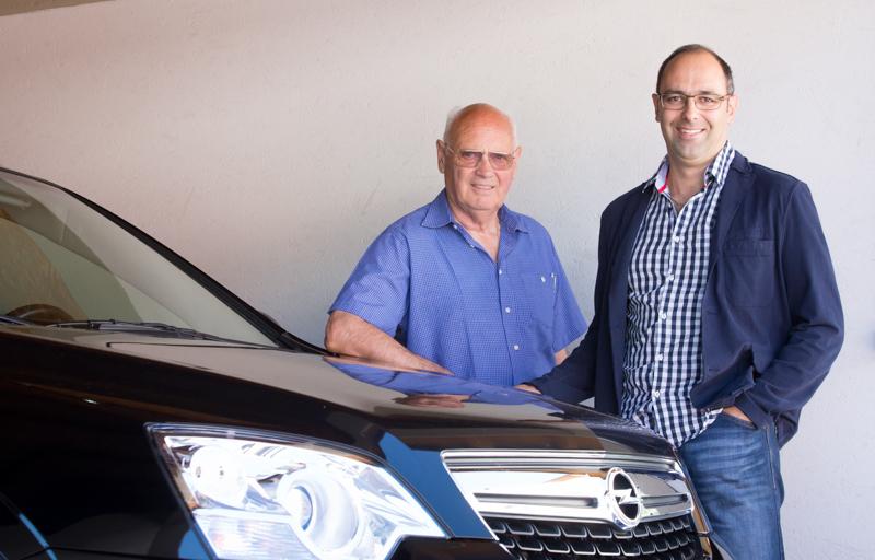 2003 übergab Firmengründer Otto Lusser die Leitung des Unternehmens an seinen Sohn Dietmar.