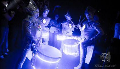 Moz Drums (FR) LED Drummers