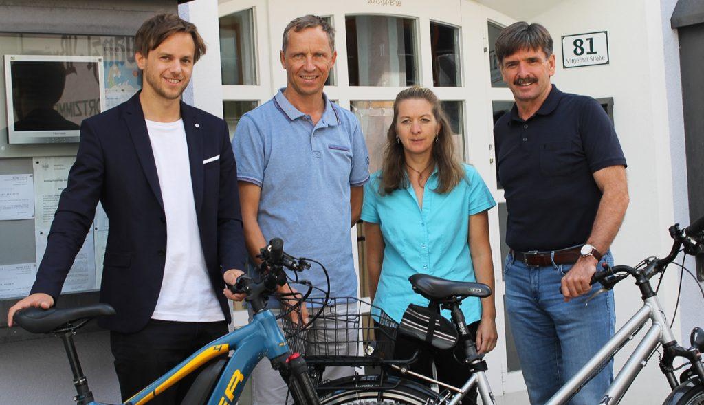 Das Fahrrad auf Erfolgskurs: Virgen macht bei Klimabündnis