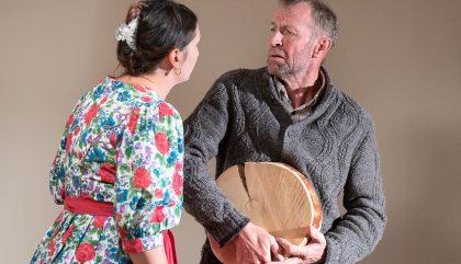 Theaterpremiere Besuchzeit von Felix Mitterer