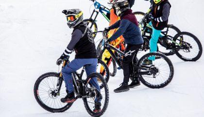 19.01.2019, Oesterreich, Lienz, Hochstein, Ride Hard on Snow, Im Bild Teilnehmer des Rennens, Brunner Images 2017, Foto: Brunner Images / Philipp Brunner