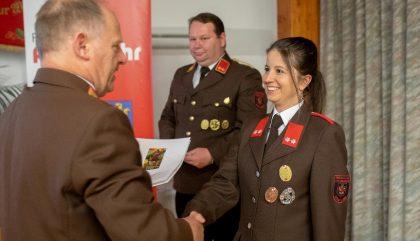 Jahreshauptversammlung Feuerwehr Lienz