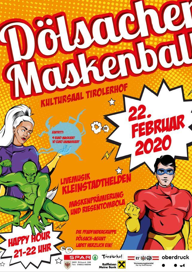 Pfadfinder Maskenball vom 18.2. bis 22.2.2020