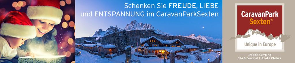 Caravan Park Sexten 17.11. bis 27.12.2020