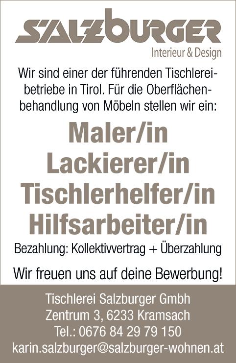 Tischlerei Salzburger GmbH