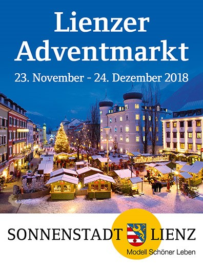 Adventmarkt Lienz vom 19.11. bis 9.12.
