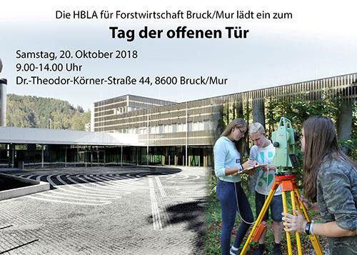 Forstschule Bruck 13. bis 19.10.2018