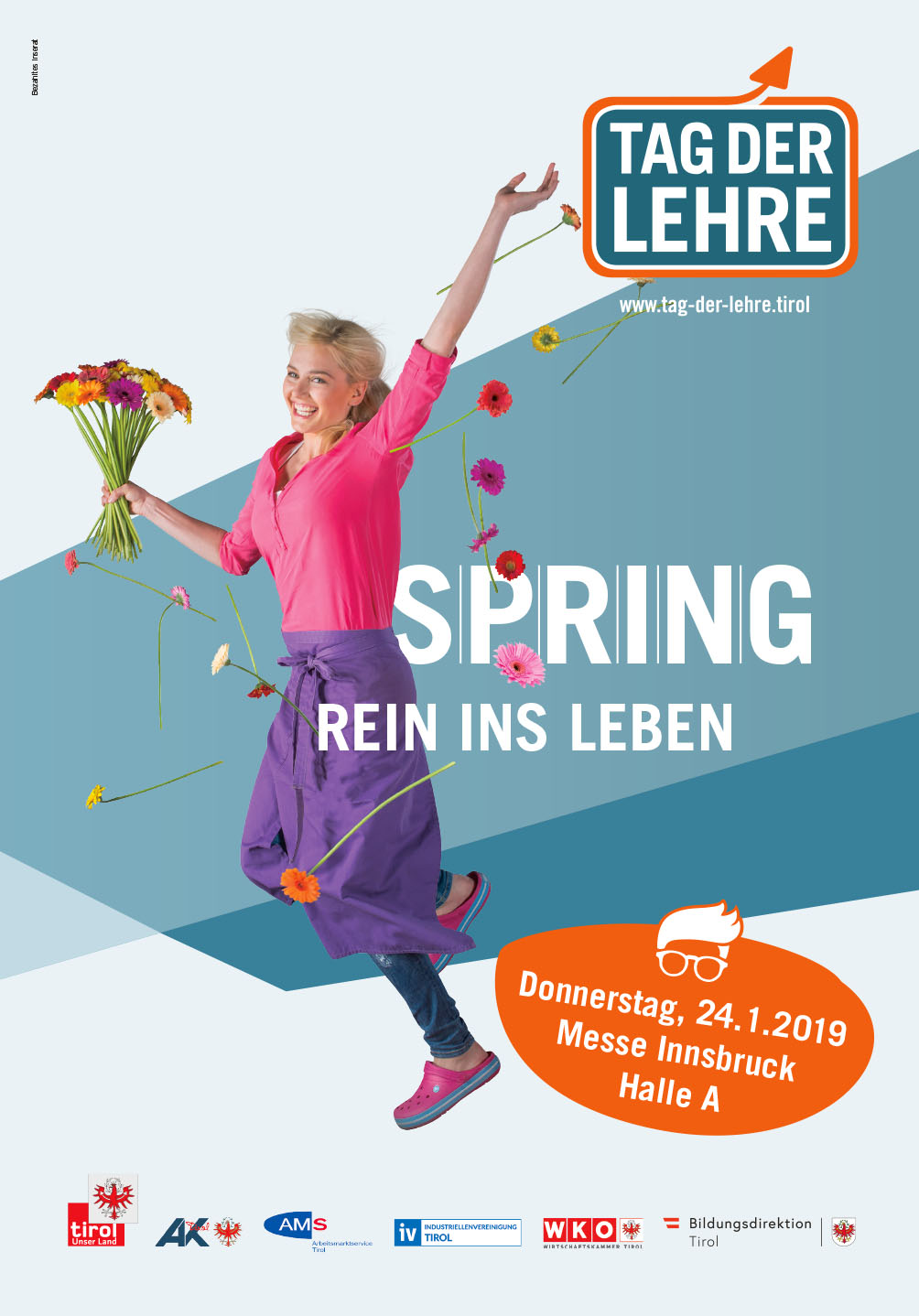 Land Tirol Tage der Lehre 10.01.2019 bis 24.01.2019