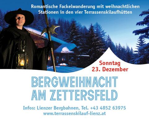 Lienzer Bergbahnen vom 14. bis 23.12.2018