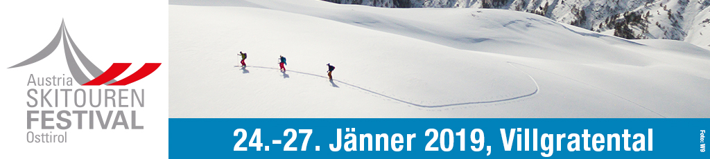 Skitourenfestival 2019 vom 10.01.2019 bis 24.01.2019