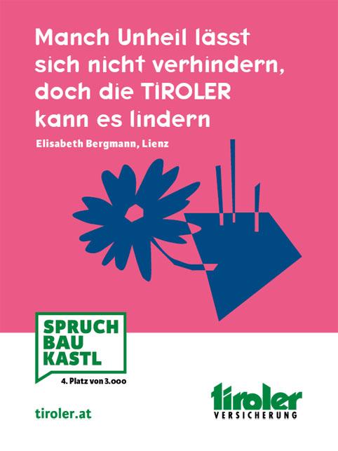 Tiroler Versicherung 8.11. bis 30.11.2018